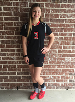 Athlete of the Month - Kylie Patten